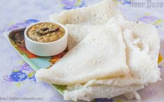 You can make these dosas for your breakfast and serve them with coconut chutney. These can also be made for lunch or dinner and served with some Veg or Non-Veg gravy