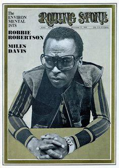 Rolling Stone Magazine w/ Miles Davis