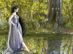 Quiz: What Silmarillion Character Are You? - My result was Luthien. :)