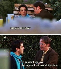 Wordplay Dwight : DunderMifflin