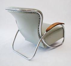 Fine & Rare Lounge Chair by Kem Weber
