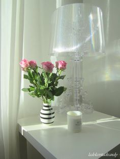 La Dolce Vita /Bourgie and pink roses