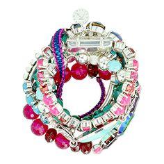 Bracelet N° 275 Anna - Collection Croisière 2014 #bijoux #Reminiscence #Reminiscenceparis http://www.reminiscence.fr/fr/mode/bijoux-eshop/bijoux-fantaisie/Anna-liste.htm?var=page-edito