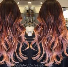 Bold rose gold