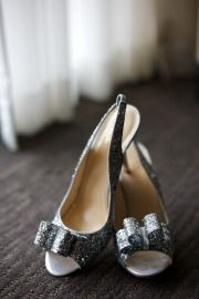 Glitter & Sparkle kate spade wedding shoes
