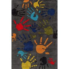 Lil Mo Whimsy Hand Tufted 8' X 10' Rug