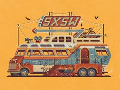SXSW 2015 Official Poster