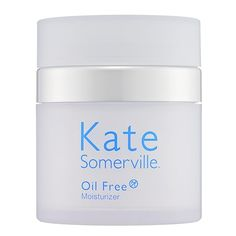 What it is:An antiaging hydrator for combination and oily skin.What it is formulated to do:Kate Somerville Oil Free Moisturizer tones and hydrates the skin while minimizing the appearance of lines and wrinkles. The effects are both immediate and last Homemade Moisturizer, Moisturizer For Oily Skin, Happy Skin, Skin Care Regimen, Beauty Regimen, Sephora, Moisturizers, Beauty Products, Makeup Products