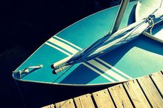 photography, sailing photography, vintage grey, pool blue, white stripe, sailboat, maine, nautical- Sunfish I, 8x12 fine art photograph