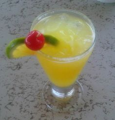 Try the Antigua Nice cocktail when you visit Bayhouse Restaurant next.