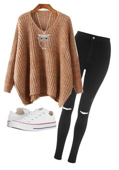 """Untitled #10"" by jmcotton on Polyvore featuring Topshop and Converse"