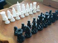 Spiral Chess Set 3d print