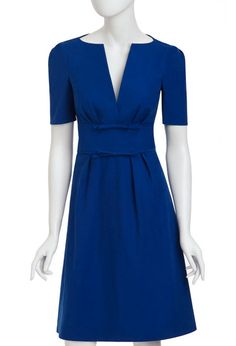 Art Freshman Dress deep sea my-style Pretty Outfits, Pretty Dresses, Blue Dresses, Dresses For Work, Mode Bcbg, Cool Winter, Winter Mode, Schneider, Mode Inspiration