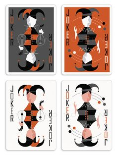 Kraig Kalashian is raising funds for The Retro Deck - Playing Cards by Pocono Modern on Kickstarter! One deck, two variations: Playing cards inspired by the simplicity and elegance of timeless Mid-Century Modern design. Joker Playing Card, Playing Cards Art, Joker Card, Jokers Wild, Photo Wall Decor, Cartomancy, Doodle Sketch, Deck Of Cards, Card Deck