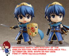 Nendoroid Marth: New Mystery of the Emblem Edition   #rinkya #japan #game #fireemblem #cute