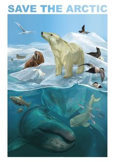 My contribution for Save the Arctic-competition. Check out my page for more illustrations