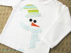 Love this idea! Using the white of the shirt