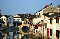 Tongli Ancient Town Lost City, Underwater, Bucket, Around The Worlds, Earth, China, Tips, Travel, Viajes