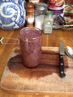 Blueberry Kiwi Pear Smoothie