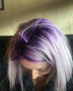 Purple roots!