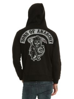 Sons Of Anarchy SAMCRO Zip Hoodie