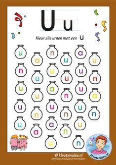 Preschool and Kindergarten Alphabet & Letters Worksheets Free Printable Worksheets, Alphabet Worksheets, Preschool Printables, Alphabet Activities, Alphabet Book, Learning The Alphabet, Alphabet Letters, Letter Find, Instagram Story Template