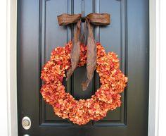 fall wreaths for front door | ... Front Door Wreaths, Holidays, Harvest Pumpkin, Autumn Wreaths, Fall