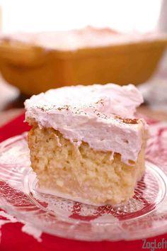Limoncello Tres Leches Cake | ZagLeft