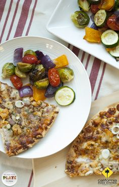 Life is all about balance, so minimize your time in the kitchen without compromising on a well-rounded dinner! Let CPK frozen pizza provide the main course and simply add a side of oven-roasted vegetables, like zucchini, peppers, Brussels sprouts, and cherry tomatoes. Toss the veggies in olive oil, add salt and pepper, then roast for 30 minutes in a 375F oven. | Balance Your Plate | #easydinner #quickdinner #quickandeasy #dinnerideas #weeknightdinner #BalanceYourPlate Roasted Vegetables, Veggies, Pizza Sides, California Pizza Kitchen, Frozen Pizza, Brussels Sprouts, Cherry Tomatoes, Vegetable Pizza, Olive Oil