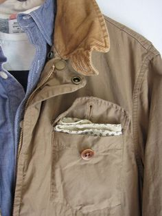 It's in the details +Nice neutral tones paired with shirt.
