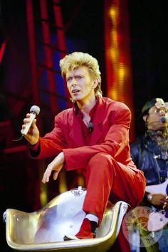 David Bowie - Glass Spider tour, 1987, photo  by Daniel Gluskoter