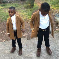 Black Kids Fashion, Toddler Boy Fashion, Cute Kids Fashion, Toddler Boy Outfits, Kids Outfits, Toddler Boys, Black Baby Boys, Cute Black Babies, Beautiful Black Babies