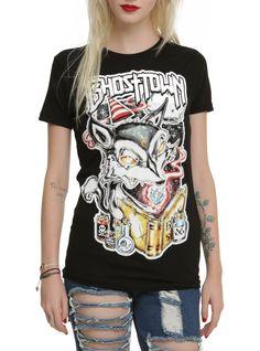 Ghost Town Fox Girls T-Shirt   Hot Topic