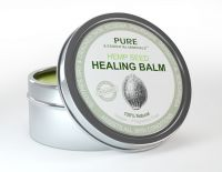 Hemp Seed Oil, Named Healthiest Oil On The Market For Natural Skin Care, Now Available As Hemp Seed Healing Balm