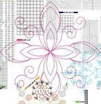 Мобильный LiveInternet Чехол для табурета с цветком | Ольга_Сан - Домашнее творчество |