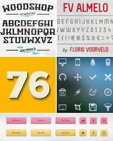 How About Orange: Free fonts and web design resources