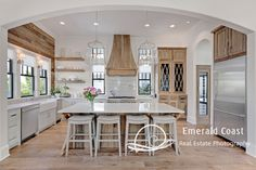 do you like the wood elements (hood, wall, cabinet, shelving) brought into kitchen?