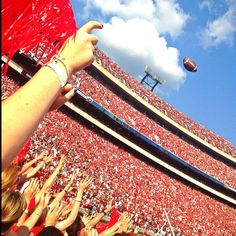 There's no place like Sanford Stadium! Go Dawgs!