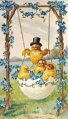Easter chicks...