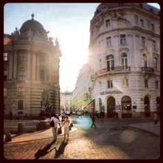 Sun in Vienna
