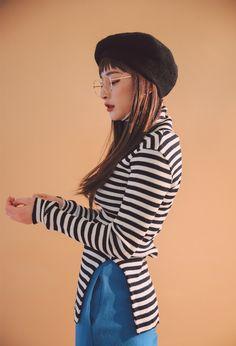 ウール混ストレートパンツ   レディース・ガールズファッション通販サイト - STYLENANDA