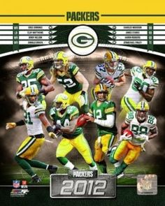 Green Bay Packers 2012 Team Photo Poster