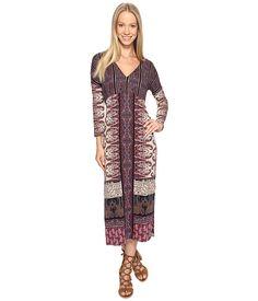 Lucky Brand Knit Maxi Dress