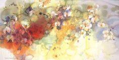 Watercolor Flowers, Watercolor Paintings, Watercolour, Water Flowers, Flower Art, Pastel, The Incredibles, Sketch, Facebook