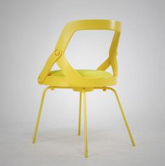 Bachag Chair by designer Joongho Choi for Boheumg Furniture was part of the 2010 iDEALGRAPHY project, which merged fashion with furniture. The Bachag chair