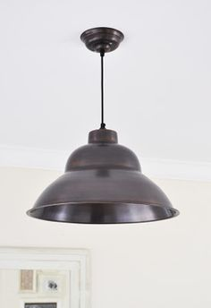 The Painted Hive | The Industrial Dining Room Light. Light from recollectit