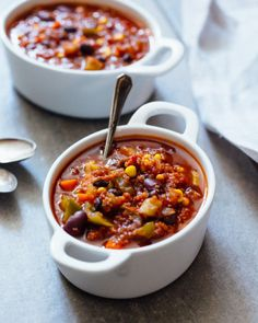 Quinoa Black Bean Chili