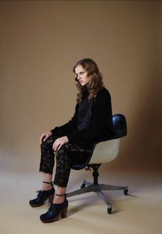 Lace pants! Yes, please.  {Rachel Comey Holiday 2011, via Rachel Comey}