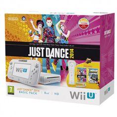 WiiU blanca basic pack 8Gb + Just Dance