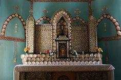 Mother of Pearl Shell Altar, Sacred Heart Church, Beagle Bay